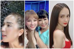 SAO MAKE OVER: Ngọc Trinh lộ trán hói - Hương Giang trang điểm đẹp không tì vết