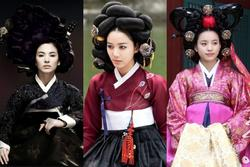 Những kiểu tóc nặng nề mà Song Hye Kyo và dàn mỹ nhân phải đội trong phim cổ trang Hàn