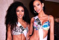 Bản tin Hoa hậu Hoàn vũ 6/5: Hoàng Thùy có eo 60 phẳng lỳ mà vẫn phải chịu cảnh lép vế