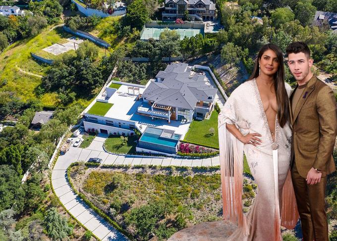 Biệt thự 20 triệu USD của Hoa hậu Thế giới và chồng trẻ-1