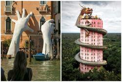 Điểm du lịch gây ấn tượng mạnh vì kiến trúc độc đáo trên thế giới, Việt Nam cũng tự hào góp mặt với Cầu Vàng