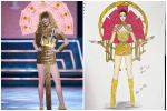 Sau Quốc phục Miss Cai Lậy 7 miếng đất, xuất hiện thêm trang phục dân tộc chống Covid-19 siêu lạ cho Khánh Vân-6