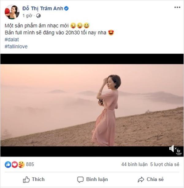 Học đòi ra MV nhạc, hotgirl Trâm Anh bị đào xới scandal cách đây 1 năm-4