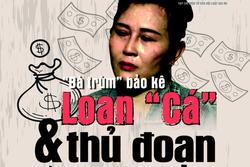 Bắt khẩn cấp chồng Loan 'cá' trong vụ lấy tiền 'bảo kê' của hàng trăm tiểu thương