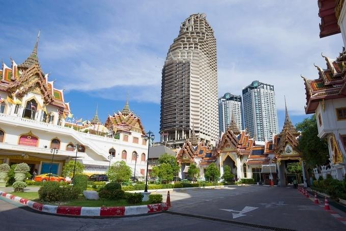 Tòa nhà ma ám thành điểm check-in cực kỳ được yêu thích ở Thái Lan-1