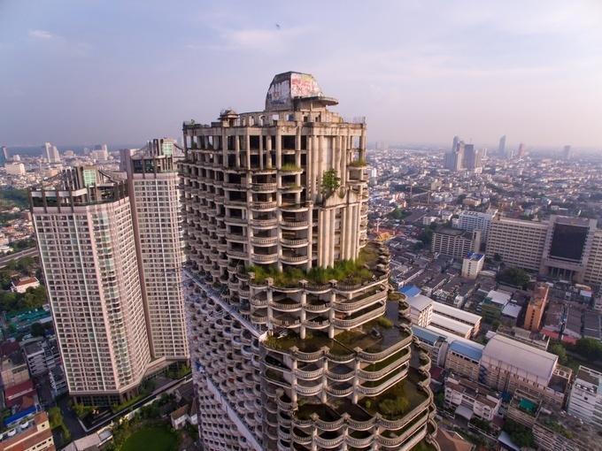 Tòa nhà ma ám thành điểm check-in cực kỳ được yêu thích ở Thái Lan-2