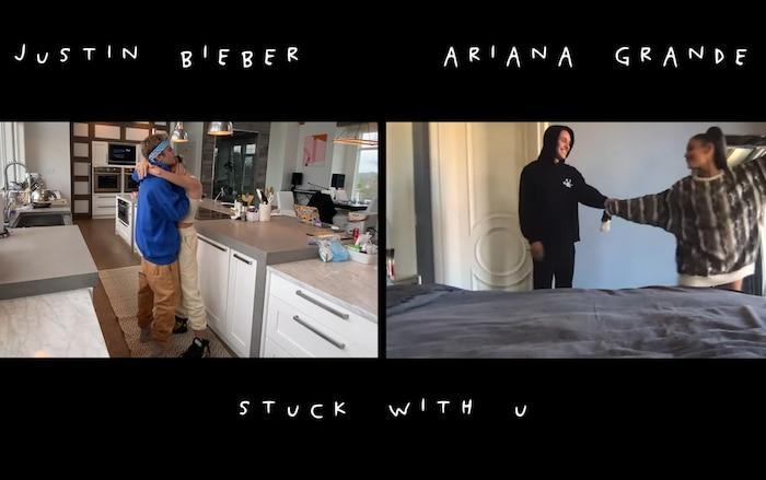 Ariana Grande chính thức công khai người yêu mới ngay trong sản phẩm hợp tác với Justin Bieber-2