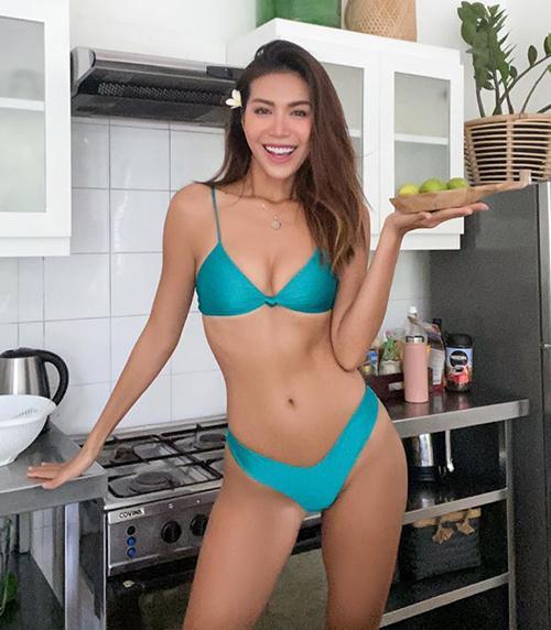 Sao Việt diện bikini vài trăm nghìn mà xịn như hàng hiệu-1