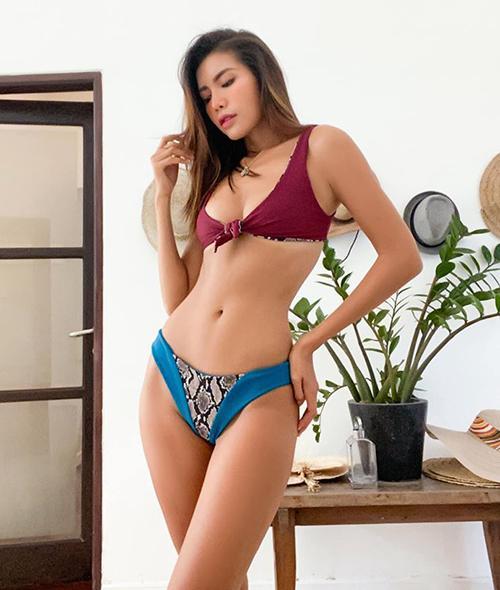 Sao Việt diện bikini vài trăm nghìn mà xịn như hàng hiệu-2