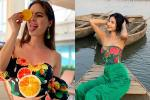 Bản tin Hoa hậu Hoàn vũ 10/5: Hoàng Thùy mặc áo hoa dâm bụt, ai ngờ đối thủ lên đồ độc đáo hơn