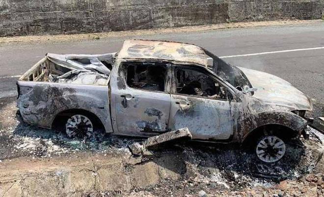 Bí thư xã nghi giết cháu vợ rồi đốt cùng xe ô tô, khiến gia đình nhận nhầm thi thể-1