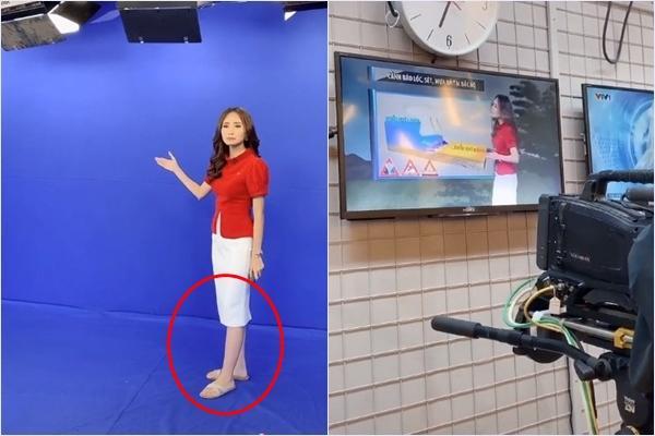 MC kỳ cựu VTV gây hoang mang với đôi chân tím ngắt khi đang dẫn bản tin thời tiết-4