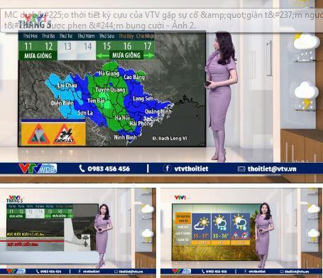 MC kỳ cựu VTV gây hoang mang với đôi chân tím ngắt khi đang dẫn bản tin thời tiết-3