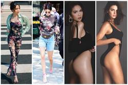 Ngọc Trinh liên tục bắt chước chân dài triệu đô Kendall Jenner nhưng kém sang hơn hẳn