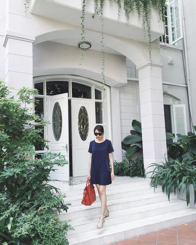 Từng ngóc ngách đẹp như tranh trong biệt thự màu trắng của Tăng Thanh Hà-1