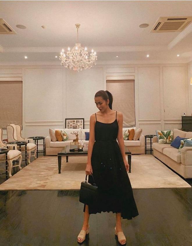 Từng ngóc ngách đẹp như tranh trong biệt thự màu trắng của Tăng Thanh Hà-3
