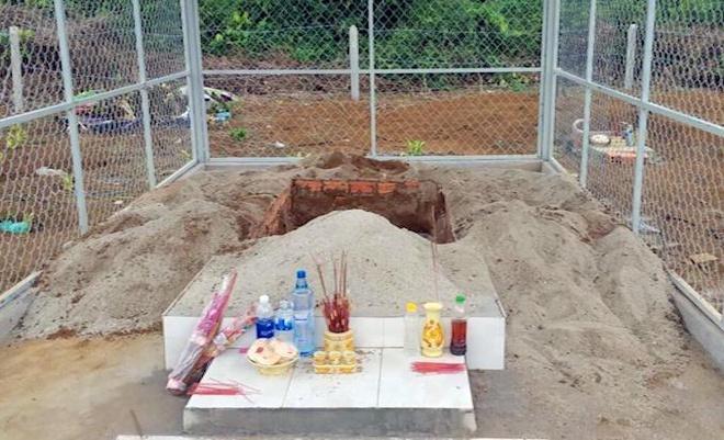 Vụ giết người dựng hiện trường giả: Bí thư xã từng đào trộm mộ đến tận nắp quan tài, mệt quá đành dừng lại-1