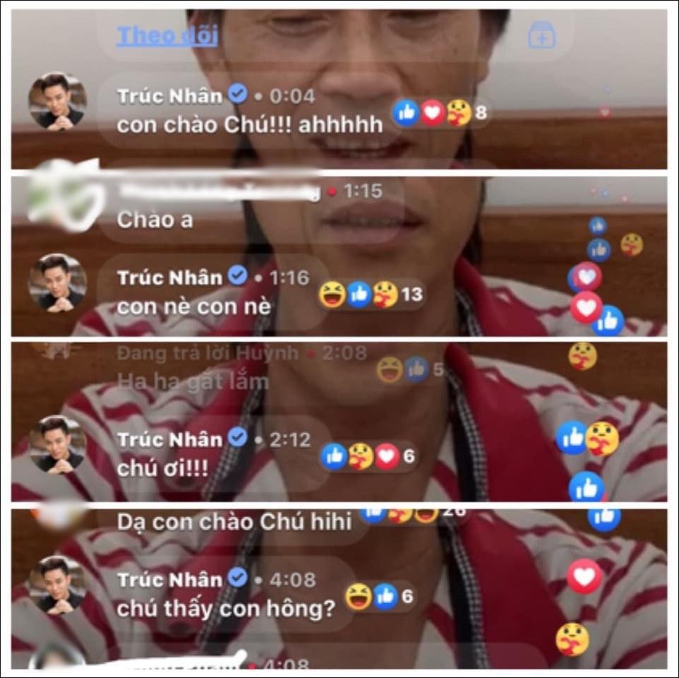 Hoài Linh xin lỗi Trúc Nhân vì không để ý bình luận livestream