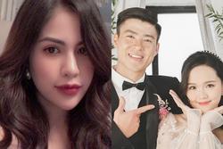 Duy Mạnh - Quỳnh Anh bị nghi lục đục, vợ cũ Việt Anh: 'Đã bảo đừng tin ngôn tình'