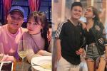 Bị tấn công chuyện yêu người mới, Quang Hải - Huỳnh Anh cùng lúc đổi trạng thái Facebook sang HẸN HÒ-5