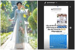 Hoa hậu Ngọc Hân bức xúc đến sụt cân vì bị ăn cắp mẫu thiết kế để bán với giá rẻ mạt