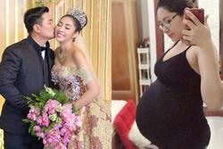 Hoa hậu Đặng Thu Thảo khoe song thai lớn vượt mặt ở tháng thứ 6