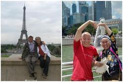 Ngưỡng mộ cặp vợ chồng lớn tuổi khoác ba lô đi khắp thế giới và yêu nhau như thủa ban đầu