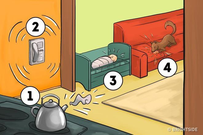 Sẽ làm gì đầu tiên trong 4 tình huống sau? Câu trả lời sẽ cho thấy tính cách bạn-1