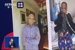 Diễn biến sức khỏe bác sĩ Trung Quốc bị đổi màu da vì Covid-19