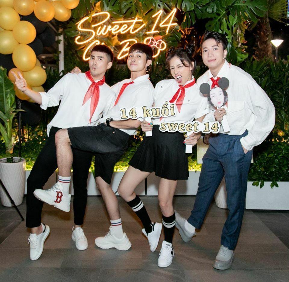 Những tiệc sinh nhật có dress code đẹp nhất của sao Việt-2