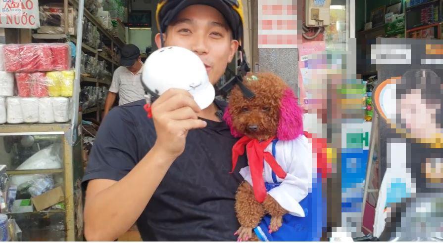 MXH Việt phát cuồng cô chó đi bằng 2 chân, video mới xuất hiện hút gần 5,5 triệu lượt xem-5