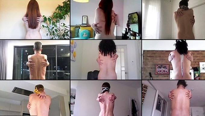 Cổ vũ giãn cách xã hội dịch Covid-19, nhiều người chụp ảnh khỏa thân tập thể qua mạng-1