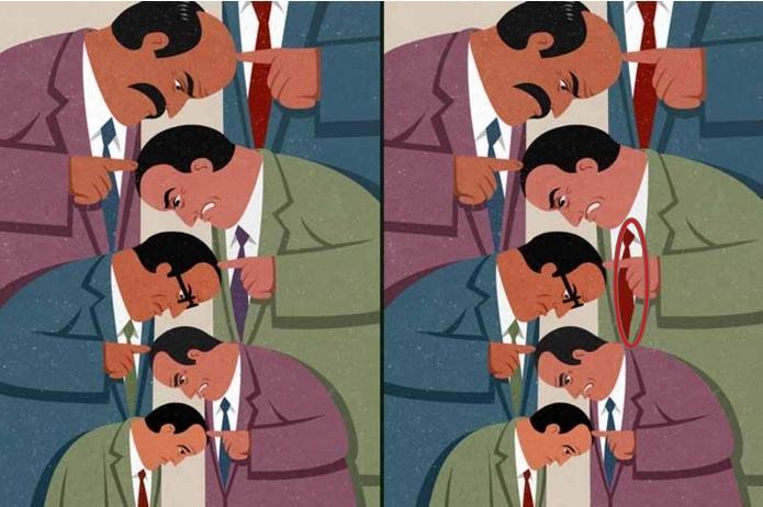 Tìm được hết điểm khác biệt trong 6 bức tranh, chứng tỏ bạn là THIÊN TÀI-10