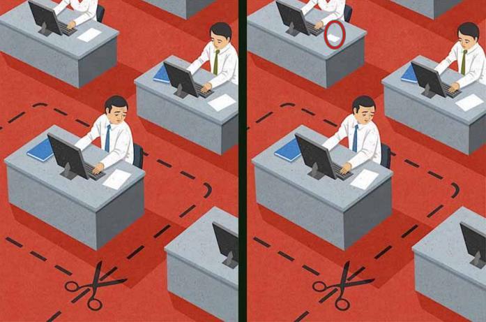 Tìm được hết điểm khác biệt trong 6 bức tranh, chứng tỏ bạn là THIÊN TÀI-12