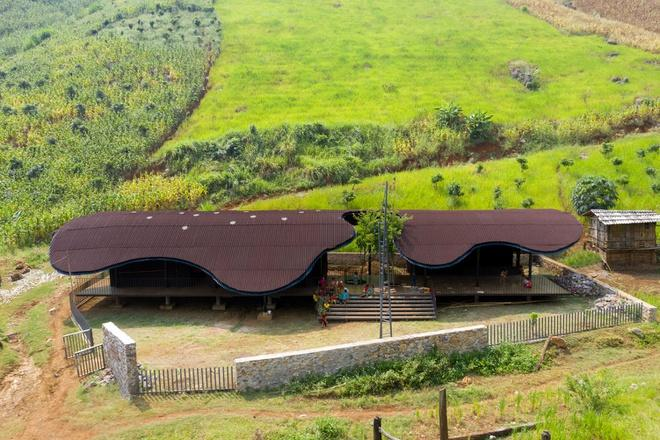 Trường mầm non ở Sơn La lọt top 10 dự án kiến trúc thế giới-1