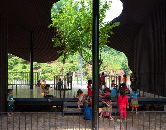Trường mầm non ở Sơn La lọt top 10 dự án kiến trúc thế giới-2