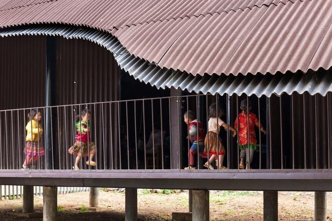 Trường mầm non ở Sơn La lọt top 10 dự án kiến trúc thế giới-8