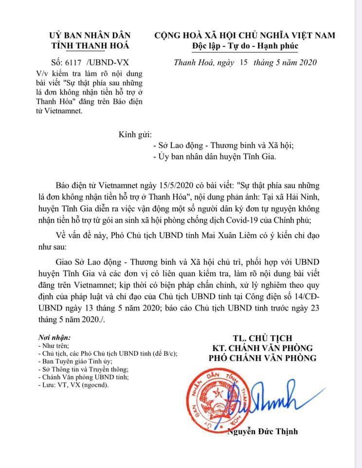 Vụ ký đơn không nhận hỗ trợ ở Thanh Hóa: Hộ cận nghèo có nhà tiền tỷ-4