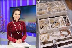 Choáng ngợp trước gia sản 'kếch xù' của MC Mai Ngọc: Chỉ riêng phụ kiện cũng 'sương sương' hàng trăm triệu đồng