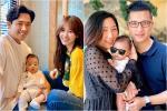 Cưng muốn xỉu ảnh cháu gái 3 tháng tuổi của Trấn Thành lần đầu được mẹ cho diện bikini-7