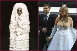 Những bộ váy cưới thảm họa biến ngày vui trở thành nốt buồn muốn quên suốt cuộc đời