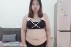 Hành trình giảm cân đáng kinh ngạc của cô gái gần 100 kg