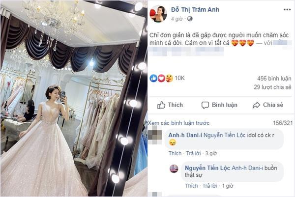 1 năm sau scandal lộ clip nóng, hotgirl Trâm Anh bất ngờ thông báo lấy chồng-1