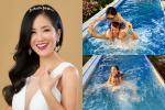 Diva Hồng Nhung khoe ảnh bạn trai ngoại quốc mới vui đùa cùng các con?