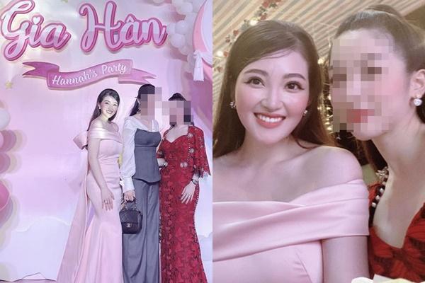 Tổ chức tiệc rich kid cho con gái 3 tháng, nhan sắc cô dâu 200 cây vàng ở Nam Định gây sốt-7