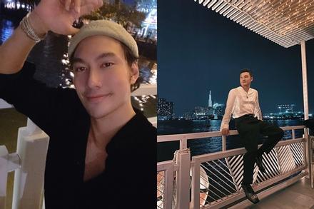 Quang Vinh bị phát hiện đón sinh nhật bên 'người tình tin đồn' Lý Quí Khánh