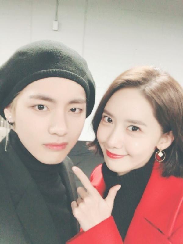Hội bạn thân Kpop: Jennie - Irene chị chị em em, V - Yoona bị nghi hẹn hò-6