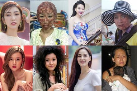 Khóc thét khi thấy bộ dạng 'ma chê quỷ hờn' của sao Việt trên màn ảnh