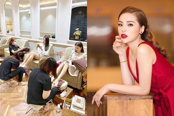 Hoa hậu Kỳ Duyên nhượng quyền điều hành tiệm nail từng gây nhiều tranh cãi-1