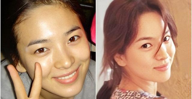 Cặp mỹ nhân Song Hye Kyo - Son Ye Jin: Ai đẹp hơn khi gột sạch son phấn?-7